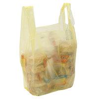 1/6 Size Yellow T-Shirt Bag - 1000/Case