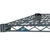 Metro 1848N-DSH Super Erecta Silver Hammertone Wire Shelf - 18 inch x 48 inch
