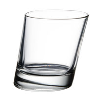 Libbey 11006721 Pisa 9.5 oz. Slanted Rocks Glass - 12/Case