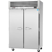 Turbo Air PRO-50F 52 inch Premiere Pro Series Two Section Solid Door Reach in Freezer - 49 cu. ft.