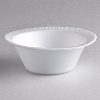 Dart 5BWWC Concorde 5-6 oz. White Non-Laminated Round Foam Bowl - 1000/Case