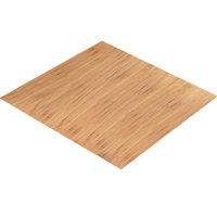 Cal-Mil 1435-1212-60 Bamboo 12 inch Square Riser Shelf