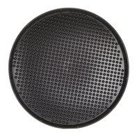 HS Inc. HS1060 21 inch Charcoal Polypropylene Pizza Pleezer Pizza Tray - 12/Case