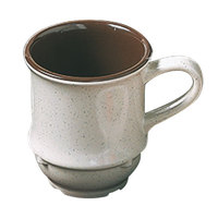 Thunder Group AD918AA Arcadia 9 oz. Two-Tone 3 1/4 inch Mug - 12/Case
