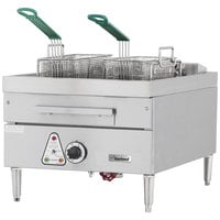 Garland E24-31F 30 lb. Countertop Electric Deep Fryer - 208V, 1 Phase, 12 kW