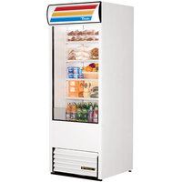 True TAC-30-LD 30 inch White Refrigerated Air Curtain Merchandiser - 25.5 Cu. Ft.