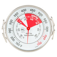 2 inch Dial Grill Thermometer - NSF