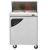 Turbo Air TST-28SD 28 inch 1 Door Refrigerated Sandwich Prep Table