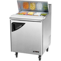 Turbo Air TST-28SD 27 1/2 inch 1 Door Refrigerated Sandwich Prep Table