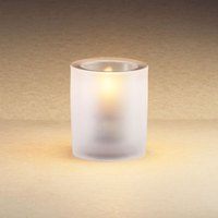 Sterno Products 80178 3 1/4 inch Frost Mini Bubbles Liquid Candle Holder