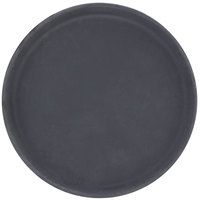 Carlisle 1100GR004 Black 11 inch Griptite Non Skid Fiberglass Serving Tray