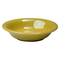 Homer Laughlin 459320 Fiesta Sunflower 6.25 oz. Fruit Bowl / Monkey Dish - 12/Case