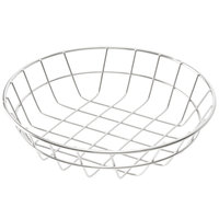 American Metalcraft WISS8 Stainless Steel Round Wire Basket 8 inch
