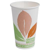 Dart Solo 316PLA-J7234 Bare Eco-Forward 16 oz. Paper Hot Cup - 1000/Case