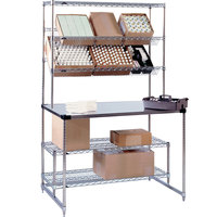 Metro SWHPS2460 Amenity Pick Station - 24 inch x 60 inch