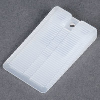 Wobble Wedge Tapered Translucent Hard Nylon Installation Shim - 75/Pack
