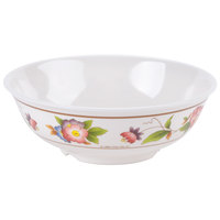 GET M-811-TR 1 Qt. Tea Rose Melamine Bowl - 12 / Pack