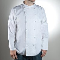 Chef Revival J007-5X Size 64 (5X) Customizable Luxury Cotton Corporate Chef Jacket