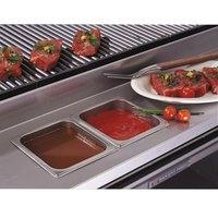 Bakers Pride 21844521 Ultimate Outdoor Charbroiler Stainless Steel Rear Work Deck