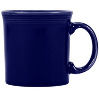 Homer Laughlin 570105 Fiesta Cobalt Blue 12 oz. Java Mug   - 12/Case