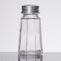 1 oz. Flat Paneled Salt and Pepper Shaker - 12/Pack