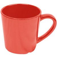 Smooth Melamine 7 oz. Orange Mug - 12/Case