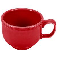 Homer Laughlin 149326 Fiesta Scarlet 18 oz. Jumbo Cup - 12 / Case