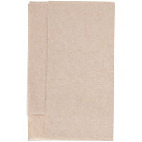 Kraft Natural Mini-Fold Dispenser Napkin - 6000 / Case