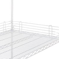 Metro L18N-4W Super Erecta White Stackable Ledge 18 inch x 4 inch