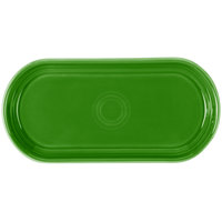 Homer Laughlin 412324 Fiesta Shamrock 12 inch x 5 11/16 inch Bread Tray - 6 / Case