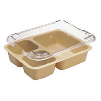 Cambro 853FCWC135 Camwear Clear Insert Tray Lid - 24 /Case