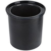 Cambro CFR18110 Black 1.7 Qt ColdFest Crock