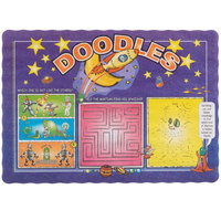 Doodles Children's Interactive Placemat - 1000 / Case
