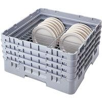 Cambro CRP141012151 Soft Gray Full Size PlateSafe Camrack 10 1/2-12 1/2 inch