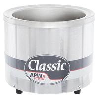 APW Wyott RW-1V Round 7 Qt. Countertop Warmer 120V, 500W