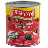 #10 Can Whole Peeled Tomatoes - 6/Case