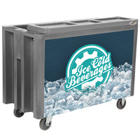 IRP Gray Arctic 720 Mobile 288 Qt. Cooler with Casters