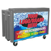 Gray Arctic 720 Mobile 288 qt. Cooler with Casters