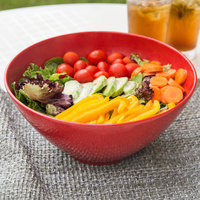 GET B-791-RSP Red Sensation 4 Qt. Red Round Catering Bowl