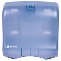 San Jamar T1750TBL Ultrafold C-Fold / Multi-Fold Towel Dispenser - Arctic Blue