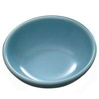 Thunder Group 3945 Blue Jade 6 oz. Round Melamine Sauce Dish - 12/Case