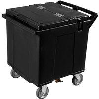 Carlisle IC225003 Black Cateraide 125 lb. Mobile Ice Caddy