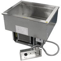 Delfield N8656 Four Pan Drop-In Cold / Hot Food Well