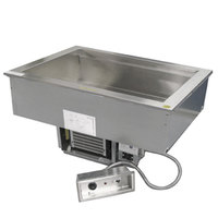 Delfield N8656 Four Pan Drop In Cold / Hot Food Well