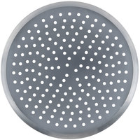 American Metalcraft CAR16P 16 inch Perforated Heavy Weight Aluminum CAR Pizza Pan