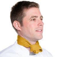 37 inch x 14 inch Gold Chef Neckerchief / Bandana