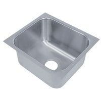 Advance Tabco 2020A-12 1 Compartment Undermount Sink Bowl 20 inch x 20 inch x 12 inch