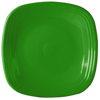 Homer Laughlin 919324 Fiesta Shamrock 10 3/4 inch Square China Plate - 12/Case