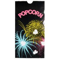 Bagcraft Papercon 300448 4 1/4 inch x 2 1/2 inch x 8 1/4 inch 46 oz. Funburst Design Popcorn Bag - 1000/Case