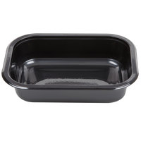 Genpak 55516 16 oz. Dual Ovenable 1-Compartment Food Pan - 500/Case
